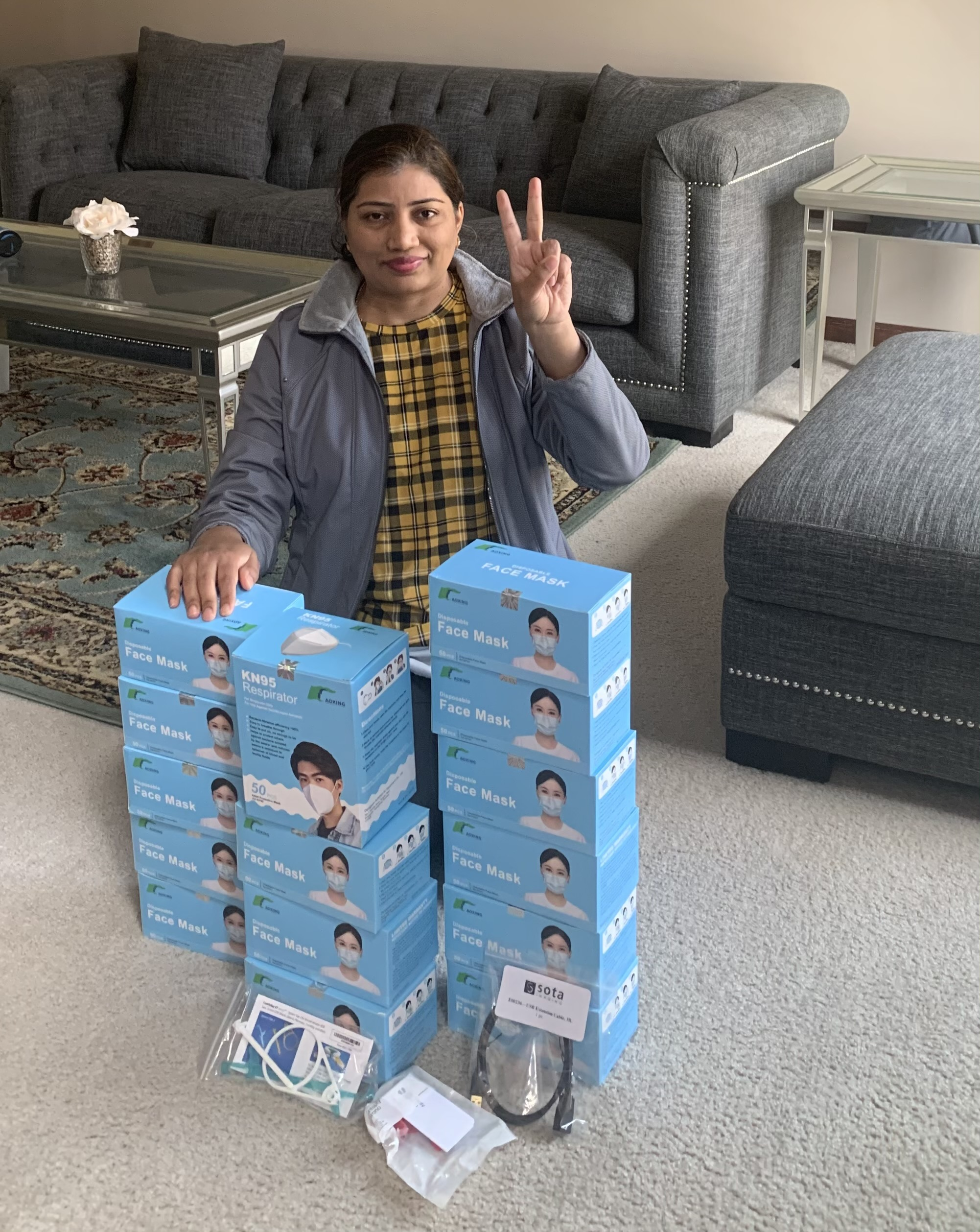 SOTA Imaging customer Dr. Irfana Ilyas won $500 in dental supplies from the new SOTA Store online.